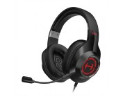 Edifier G2II Black / Gaming On-ear headphones with microphone, 7.1 Virtual Surround Sound, Dynamic RGB light effects, Dynamic driver 50 mm, Frequency response 20 Hz-20 kHz, USB