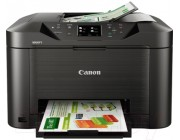MFD Canon MAXIFY MB5140, Colour Print/Scan/Copier/Network/FAX, DADF(50-sheet),USB Reader,Wi-Fi+Cloud Link,A4,Print 600x1200dpi_2pl,Scan1200x1200dpi,ESAT 24.0/15.5ipm,64-275г/м2,Max.20k p/month,Paper Input: 250sheets,4-ink PGI-2400/2400XLBK,C,M,Y