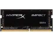 16GB (Kit of 2*8GB) DDR4-3200 SODIMM Kingston  HyperX® Impact, (Dual Channel Kit), PC25600, CL20, 1.2V