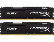16GB (Kit of 2*8GB) DDR4-3200  Kingston HyperX® FURY DDR4, PC25600, CL16, 1.35V, Auto-overclocking, Asymmetric BLACK heat spreader, Intel XMP Ready  (Extreme Memory Profiles)