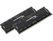 16GB (Kit of 2*8GB) DDR4-3333  Kingston HyperX® Predator DDR4, PC26660, CL16, 1.35V, BLACK heat spreader, Intel XMP Ready (Extreme Memory Profiles)