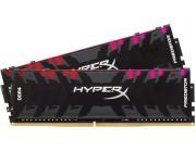16GB (Kit of 2*8GB) DDR4-3000  Kingston HyperX® Predator DDR4 RGB, PC24000, CL15, 1.35V, BLACK heat spreader, Dynamic RGB effects featuring HyperX Infrared Sync technology, Intel XMP Ready (Extreme Memory Profiles)