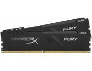 16GB (Kit of 2*8GB) DDR4-3600  Kingston HyperX® FURY DDR4, PC28800, CL17, 1.35V, Auto-overclocking, Asymmetric BLACK heat spreader, Intel XMP Ready  (Extreme Memory Profiles)