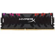 16GB (Kit of 2*8GB) DDR4-3200 Kingston HyperX® FURY DDR4, PC25600, CL16, 1.2V, Auto-overclocking, Asymmetric BLACK heat spreader, Intel XMP Ready (Extreme Memory Profiles)