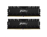 16GB (Kit of 2*8GB) DDR4-3466 Kingston HyperX® FURY DDR4, PC27700, CL16, 1.2V, Auto-overclocking, Asymmetric BLACK heat spreader, Intel XMP Ready (Extreme Memory Profiles)