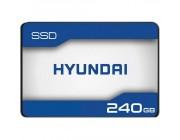 2.5 inch SSD 240GB  HYUNDAI Sapphire, SATAIII, SeqReads: 500 MB/s, SeqWrites: 400 MB/s,  Max Random 4k: Read: 61,000 IOPS / Write: 73,000 IOPS, 7mm, 3D NAND TLC