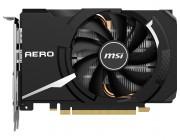 MSI GeForce GTX 1650 SUPER AERO ITX 4G OC / 4GB GDDR6 128Bit 1740/12000Mhz, 1xDVI-D, 1x HDMI, 1x DisplayPort, Single fan - ITX thermal design (Zero Frozr/Airflow Control Technology), All Solid Capacitors, Aluminum core, OC Scanner