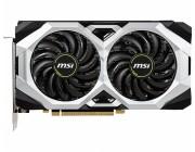 MSI GeForce RTX 2060 SUPER VENTUS 8G / 8GB GDDR6 256Bit 1650/14000Mhz, 1x HDMI, 3x DisplayPort, Dual fan - Customized Design, TORX Fan2.0, Thermal Padding, Direct Contact 6mm Cooper HeatPipes, Amplified PCB