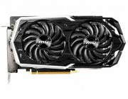 MSI GeForce GTX 1660 Ti ARMOR 6G OC / 6GB GDDR6 192Bit 1860/12000Mhz, DVI, 1x HDMI, 3x DisplayPort, Dual fan - ARMOR 2X Thermal Design (Zero Frozr/Airflow Control Technology), TORX Fan2.0, Gaming App