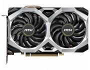 MSI GeForce RTX 2060 VENTUS XS 6G OC / 6GB GDDR6 192Bit 1710/14000Mhz, 1x HDMI, 3x DisplayPort, Dual fan - Customized Design, TORX Fan2.0, Gaming App