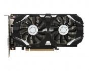 MSI GeForce GTX 1050 Ti 4GT OC / 4GB GDDR5 128Bit 1455/7008Mhz, DVI-D, HDMI, DisplayPort, Dual fan, Military Class 4 (MIL-STD-810G), Gaming App, Retail