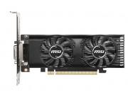 MSI GeForce GTX 1650 4GT LP OC / 4GB GDDR5 128Bit 1695/8000Mhz, DVI-D, HDMI, DisplayPort, Dual fans - Thermal Design, TORX Fan2.0, OC Scanner, Gaming App, Low Profile