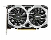 MSI GeForce GTX 1650 D6 VENTUS XS 4G OC / 4GB GDDR6 128Bit 1620/12000Mhz, DVI-D, HDMI, DisplayPort, Dual fan - Customized Design, TORX Fan2.0, Gaming App