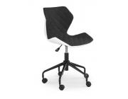 Кресло Matrix (alb/negru)