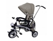 Baby Mix KR-X3 Трицикл Clever 3в1 беж
