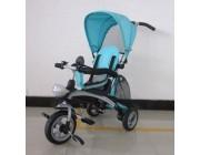 Baby Mix KR-X3 Трицикл Clever 3в1 голубой