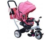 Baby Mix UR-ET-B51 Трицикл Comfort розовый