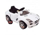 "Baby Mix UR-Z681BR-12/WH Машина на аккумуляторе ""Mercedes"" белый"