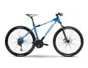"Велосипед ATTACK SL 27.5"" 27-G DEORE MIX 14 HAIBIKE BLUE/WHITE/BLACK MATT FS 52"
