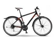 "Велосипед Montana Street Gent 28"" 24-G Acera 14 Staiger black/red Fs 48"