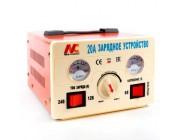 Зарядное устройство с трансформатором  0-10A/4-100Ah