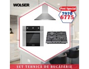 Комплект техники WOLSER Black/ Inox WL