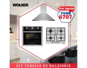 SET bucatarie WOLSER Inox WL