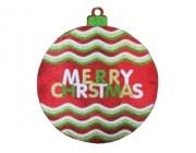 """Украшение подвесное D40cm """"Merry Christmas"""""""