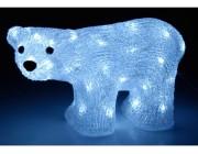"Световая фигура ""Белый Медведь"" 30X18сm, 50LED, 8реж"