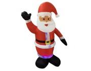 Дед Мороз 180cm надувной, с подсветкой, с мотором