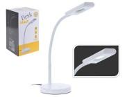Лампа настольная LED H38cm (16 SMD LED/4W), металл, белая