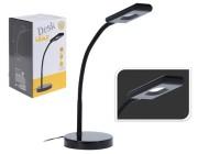 Лампа настольная LED H38cm (16 SMD LED/4W), металл,черная
