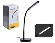 Лампа настольная LED H43cm (16 SMD LED/4W), металл,черная