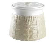 Емкость керамическая Pullover 1.4l, цвет молочный