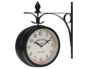 Часы настенные станционные.33X9X33cm