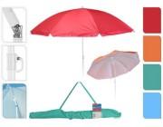Зонт солнцезащитный D140/160cm, 8 спиц, со сгибом