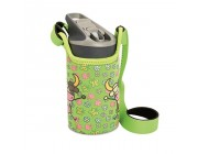 Бутылка пластик Laken Tritan Jannu + Neo Cover 0,45L, KTN4F-VL, Green VACALIN - Laken