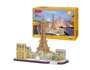 3D PUZZLE City Line Paris