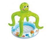 Детский надувной бассейн ОСЬМИНОЖКА 102x104 см