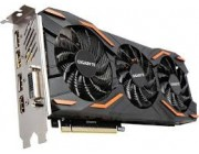"""Gigabyte GV-N1080WF3OC-8GD 1.0 (GeForce GTX 1080 8G DDR5 ) GF GTX1080,8GB DDR5, 256 bit,Engine 1797/1657MHz, Memory 10010 Mhz,,Active Cooling Wind For"""
