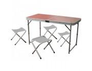 Набор мебели для пикника (стол + 4 стула)