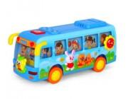 HT 908 Автобус с музыкой и светом