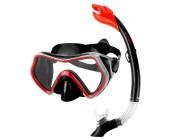 Комплект для сноркелинга: маска + трубка Spokey BORNEO