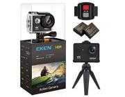 Action camera Eken H9R 4K 25fps, WiFi, Waterproof, Black
