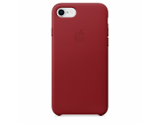 Чехол None Original iPhone 8/7 Leather Case, (PRODUCT)RED
