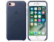 Чехол Original iPhone 8/7 Leather Case, Midnight Blue