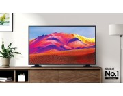 "43"" LED TV Samsung  UE43T5300AUXUA, Black (1920x1080 FHD, SMART TV, PQI 1000Hz, DVB-T/T2/C/S2"