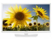"24"" LED TV Samsung UE24H4080AUXUA , White (1366x768 HD Ready, PQI 200 Hz, DVB-T/T2/C) ( 2 HDMI, 1 USB  (foto, audio, video, USB recording), DVB-T/T2/C, OSD Language: ENG, RO, RU, Speakers 6W, 4.1 Kg, VESA 75x75)"