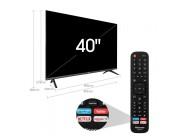 40 inch LED TV Hisense 40B6700PA, Black (1920x1080 FHD, SMART TV, PCI 900Hz, DVB-T/T2/C/S2)