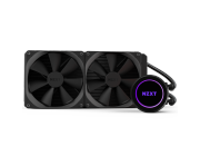 AIO Liquid Cooling NZXT Kraken X62 (21-38dB, 196.4CFM, 2x140mm, 500-1800PM, CAM RGB Lightning,1290g)